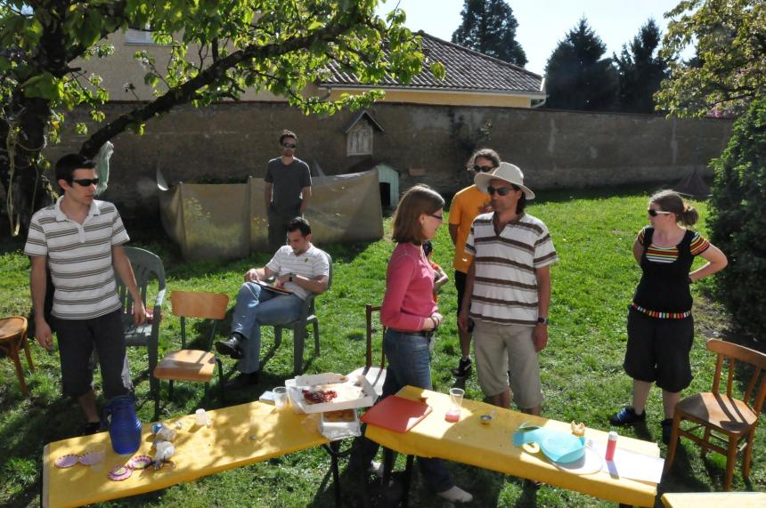 Barbecue de l'association